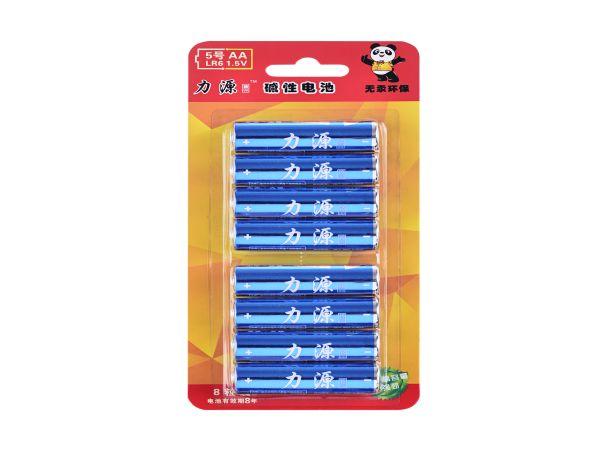 5号7号卡装碱性柱式电池
