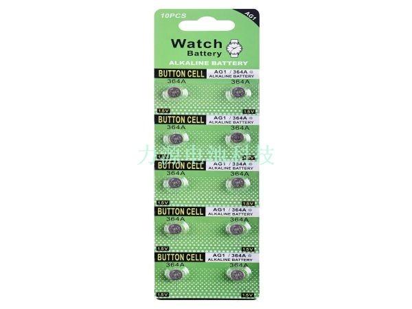 AG1/LR621卡装电池
