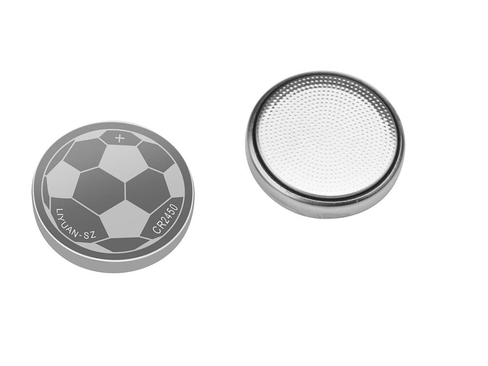 一次性锂锰3v纽扣电池足球CR2450