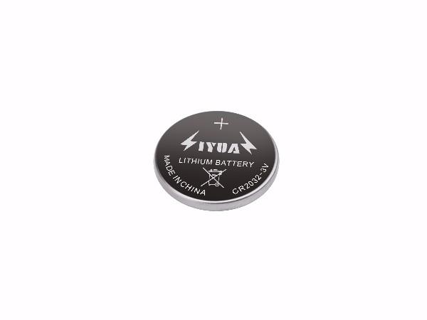一次性锂锰3V高容量纽扣电池CR2032