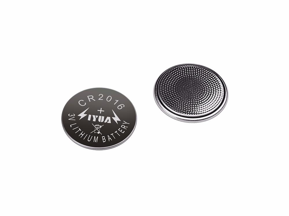 一次性锂锰纽扣电池CR2016