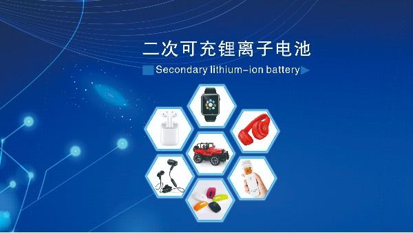 二次可充锂离子电池