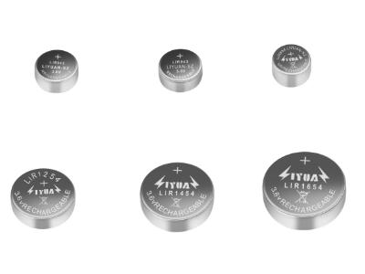 3.6/3.7V锂离子纽扣电池型号对照表