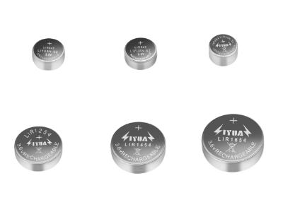锂离子纽扣电池