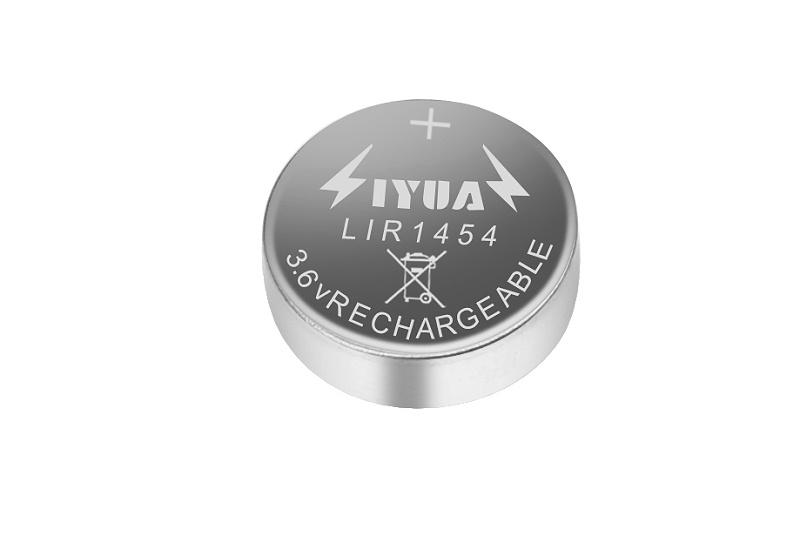 纽扣电池LIR1454