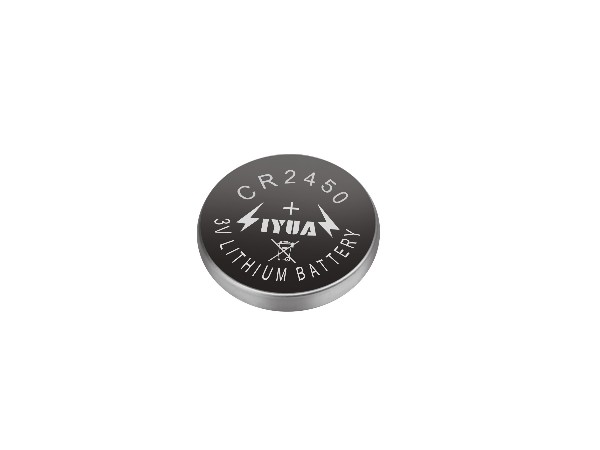 一次性锂锰纽扣电池CR2450