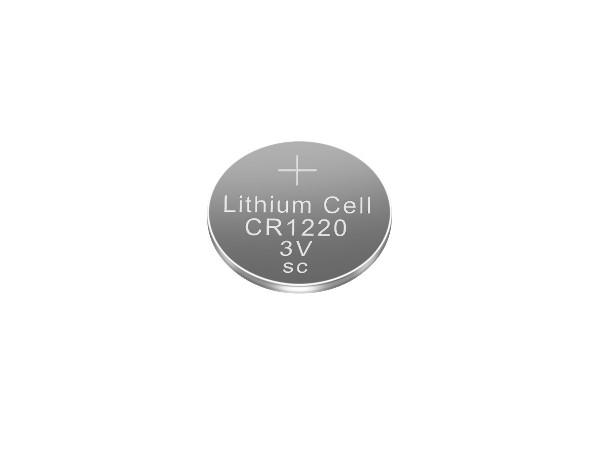 一次性3V锂锰纽扣电池CR1220