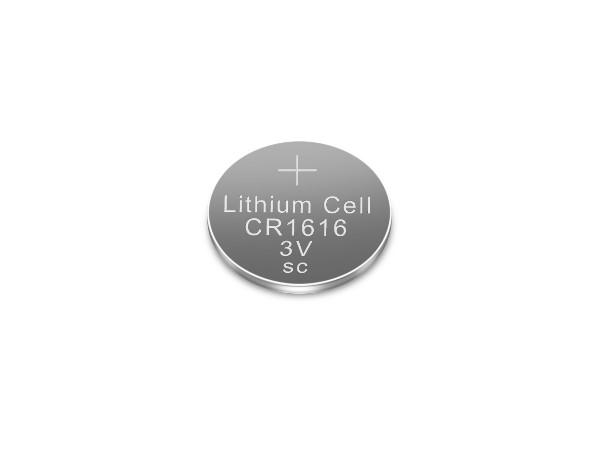 一次性3V锂锰纽扣电池CR1616