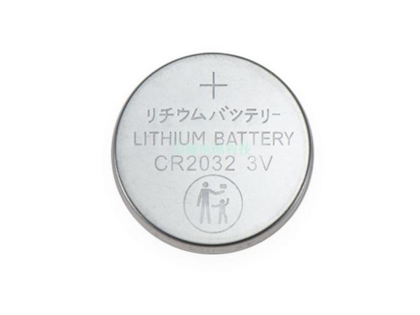 3V防误吞CR2032纽扣电池大小人标识纽扣电池