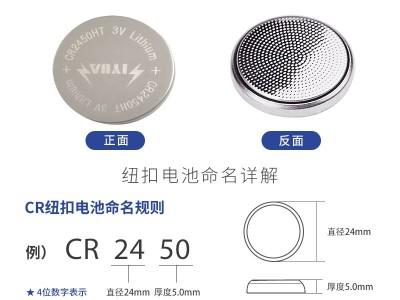 CR2450HT宽温电池