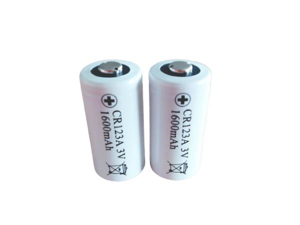CR123A烟雾报警器/智能水电表/燃气表/压力变送器纽扣电池