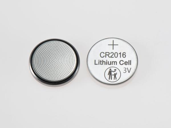 CR2016防误吞纽扣电池大小人标识3V纽扣电池CR2016