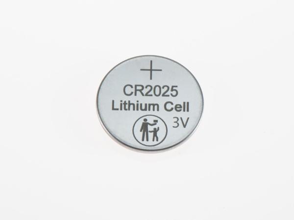 3V防误吞CR2025纽扣电池大小人标识纽扣电池