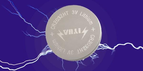 CR2032HT宽温纽扣电池