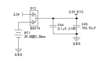 RTC电路图
